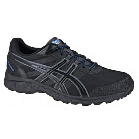 Купить Беговые кроссовки для XC Asics 2013-14 GEL-FUJITRACK черный/серый/голубой Кроссовки бега 918334