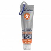 КремКосметика и уход<br>Этот специализированный солнцезащитный крем для активности на свежем воздухе с высоким фактором защиты от ультрафиолета SPF30 практически не ощущается на лице - не более чем обычный натуральный крем. Он нежирный и водостойкий. Легко наносится, питает и увлажняет кожу, делая её гладкой и восстанавливая эластичность. Предназначен для защиты от ультрафиолетового излучения, от сухости и преждевременного старения.&amp;nbsp;