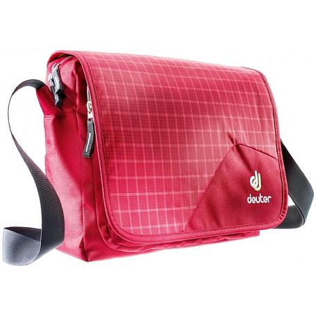 Купить Сумка на плечо Deuter Shoulder bags Attend raspberry check Сумки для города 1073405
