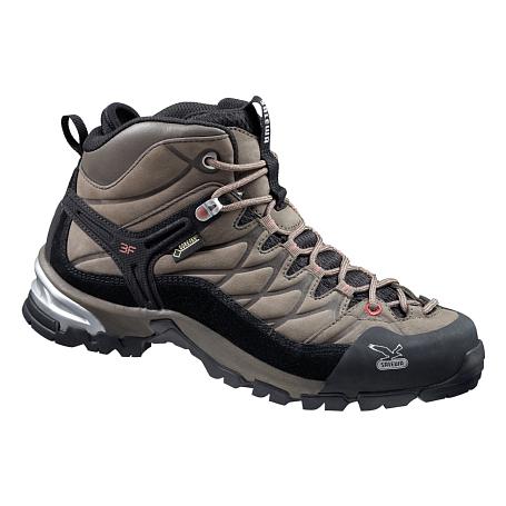 Купить Ботинки для треккинга (высокие) Salewa 2015 Hike Approach Womens WS HIKE TRAINER GTX Funghi/Antique Rose / Треккинговая обувь 1157414