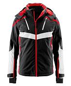 Куртка горнолыжнаяОдежда горнолыжная<br>Преданные лыжники, которые находятся на трассе в любую погоду, найдут в этой превосходной куртке все, что им нужно. Мембрана mTEX 10000 защищает от ветра и влаги, а качественный утеплитель держит в тепле. Практичные детали, такие как отстегивающийся капюшон, внутренние манжеты с отверстиями для пальцев, высокий воротник, фиксированная снегозащитная юбка, множество карманов и уплотнения на плечах придают этой лыжной куртке мужественности.<br><br>Пол: Мужской<br>Возраст: Взрослый<br>Вид: куртка