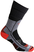 Носки Accapi 2020-21 Trekking Ultralight - Short Black/Red