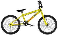 ВелосипедBMX<br>Велосипед для любителей экстремального и различных трюков, любительский уровень<br> <br> <br> Особенности:<br> <br> - рама из высококачественной стали<br> - легкие ободные тормоза U-brake&amp;nbsp;<br> - жесткая стальная вилка для четкого управления<br> <br> Технические характеристики:<br> <br> Рама: Hi-Ten Steel<br> Размер рамы: one size<br> Вилка: Hi-Ten Steel<br> Тип вилки: жесткая<br> Диаметр колес: 20<br> Кол-во скоростей: 1<br> Переключатель задний : -<br> Переключатель передний: -<br> Шифтеры: -<br> Тип тормозов: ободной<br> Тормоза: U-brake<br> Система: 1pc Cr-Mo, 30T<br> Кассета: 13T<br> Покрышки: Wanda, 20 x 2,30<br> <br> <br> Рекомендуемые аксессуары:<br>
