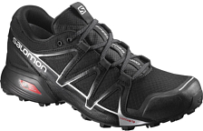 Беговые кроссовки для XC Salomon 2018 SPEEDCROSS VARIO 2 Black/Black/Silvmetal