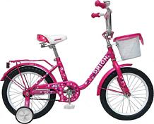 ВелосипедДо 6 лет (колеса 12-18)<br>Велосипед рекомендован для детей в возрасте от 2 до 4 лет. Удобная заниженная рама, позволяющая ребёнку легко садиться и слезать с велосипеда. Съёмные боковые колёсики помогут в обучении катанию. Высокий руль и эргономичное сиденье обеспечивают комфортную посадку. Руль регулируется как по высоте, так и по углу наклона. Задний ножной тормоз. Полная защита цепи, мягкие накладки на руле, звонок - всё это сделано для безопасного катания Вашего ребёнка. В комплект велосипеда также входят: стальные крылья, багажник, передняя стальная корзинка, съемная ручка управления.<br><br>&amp;nbsp;&amp;nbsp; Диаметр колес 14 дюймов, вес - 11 кг.