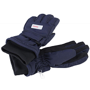 Перчатки горныеПерчатки, варежки<br>Детские непромокаемые перчатки для прогулок и активного отдыха<br> <br> -материал 100% полиэстер<br> -Водонепроницаемость: 10000 мм<br> -липучка для лучшей фиксации<br> -трикотажные манжеты<br> -более плотная ткань на ладонях<br> -карабины для крепления перчаток друг к другу<br> -утеплитель<br> -температурный режим - от 0 до -20 С<br>