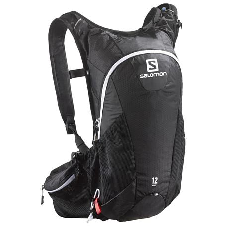 Купить Рюкзак SALOMON 2017-18 AGILE 12 SET Black Рюкзаки универсальные 1384369