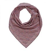 ШарфАксессуары Buff ®<br>Квадратный шарф 67x67см. Платок очень легкий и удобный за счет сочетания шелка и хлопка. Цветочный принт прекрасно сочетается как с вечерней, так и с повседневной одеждой.<br><br>Пол: Унисекс<br>Возраст: Взрослый<br>Вид: шарф, снуд