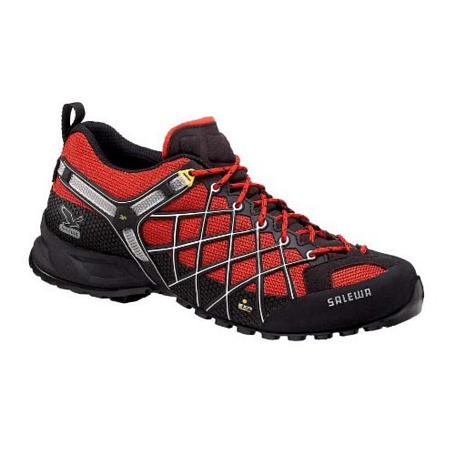 Купить Треккинговые кроссовки Salewa Tech Approach Mens MS WILD FIRE GTX flame-black Треккинговая обувь 896514