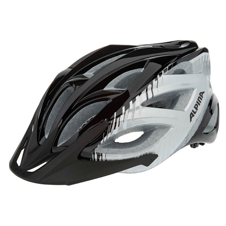 Купить Летний шлем Alpina TOUR Skid 2.0 black-silver-white, Шлемы велосипедные, 1180013