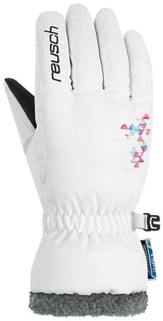 Купить Перчатки горные REUSCH 2017-18 Reusch Marin R-TEX XT Junior white Перчатки, варежки 1371115