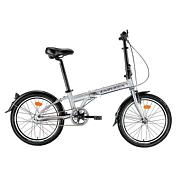 ВелосипедСкладные велосипеды<br>Легкий городской складной велосипед идеально подойдет для поездок по городу. Благодаря складным раме, педалям, и рулевой колонке, очень компактен в сложенном состоянии и позволяет перевозить его в метро и хранить дома. Оснащен  надежной и не требующей настройки планетарной втулкой Sram iMotion 3 и тормозами Promax типа v-brake. В комплектации звонок, подножка и крылья. <br><br>Рама: алюминиевый сплав 7075 Т6<br>Вилка: жесткая hi-ten steel<br>Размер колёс: 20<br>Количество скоростей: 3<br>Тип тормозов: передний ProMax V-Brake (ободной), задний ножной<br>Цепь: KMC<br>Система: 1 звездочка<br>Каретка: неинтегрированная<br>Педали: складные<br>Ободья: двойные алюминиевые<br>Передняя втулка: Joy Tech, алюминий<br>Задняя втулка: планетарная<br>Покрышки: Kenda multitrack sport 20x1.95<br>Подседельный штырь: алюминиевый<br>Руль: алюминиевый, регулируемая высота<br>Кассета: 1 звездочка планетарной втулки<br>Передний переключатель: нет<br>Задний переключатель: SRAM iMotion 3<br>Манетки: SRAM  iMotion 3<br>Вес велосипеда: 12.9 кг<br><br>Пол: Унисекс<br>Возраст: Взрослый