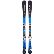 Горные лыжи с креплениями HEAD 2018-19 V-Shape V4 SW LYT PR+PR 11 GW BRAKE 90 [G] black/blue