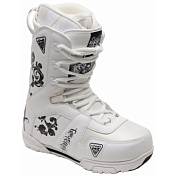 Ботинки для сноуборда Black Fire 2014-15 B&W White