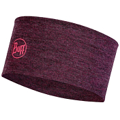 Повязка Buff Midweght Merino Wool Headband Dahlia Melange