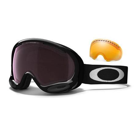 Купить Очки горнолыжные Oakley AFRAME 2.0 JET BLACK ROSE & PERSIMMON 1137521