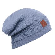ШапкаАксессуары Buff ®<br>Вязаная шапка с интересным дизайном. Стильный комфорт для осени/зимы.<br>Состав: 100% шерсть меринос
