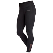 Тайтсы беговые Saucony 2020-21 Fortify Tight Black