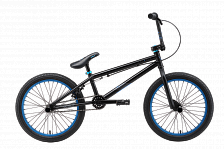 Велосипед Welt BMX Freedom 2018 matt black/blue