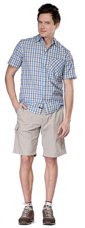 Купить Рубашка для активного отдыха MAIER 2012 LARRY PRINT синий/принт, Одежда туристическая, 787327