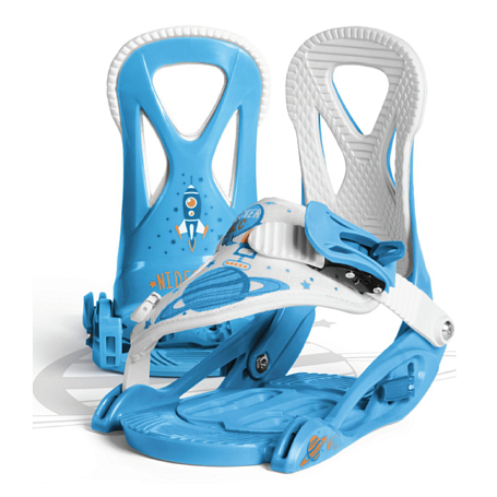 Купить Сноуборд крепления NIDECKER 2016-17 MAGIC BLUE, крепления, 1288489