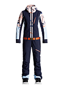 Костюм сноубордический ROXY 2017-18 IMPRESSION SUIT J SNSU NLK6 MANDARIN ORANGE_POP SNOW CRYST