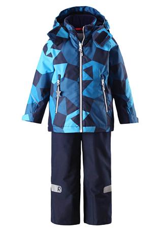Купить Комплект горнолыжный Reima 2017-18 Grane Blue Детская одежда 1351679