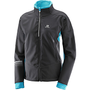 Куртка беговая SALOMON 2017-18 LIGHTNING WARM SSHELL JKT W