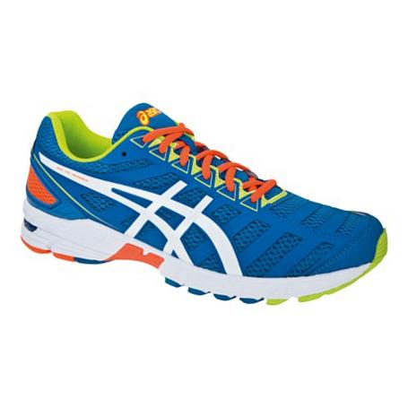 Купить Марафонки Asics 2013 GEL-DS TRAINER 18 Голубой/Белый/Оранжевый, Кроссовки для бега, 903409