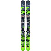 Горные лыжи с креплениямиГорные лыжи<br>Подростковые парковые и пайповые лыжи для фристайла.Комплектация: EL 7.5 QT WB BLKГеометрия: 105/72/97*, 110/81/105, 112/81.5/107, 114/82/109Уровень катания: 5-9Трасса: 10/90Описание конструкции: Early Rise Rocker<br>Full power cap,<br>Synfl ex,<br>FibreglassРадиус бокового выреза: 105(6.9)*, 115(8.8)*, 125(9.6), 135(10.9), 145(12.3)<br><br>Пол: Унисекс<br>Возраст: Детский
