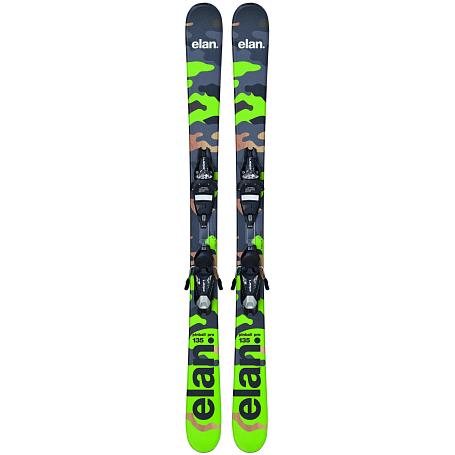 Купить Горные лыжи с креплениями Elan 2015-16 PINBALL PRO QT EL 7.5 WB /, лыжи, 1157038
