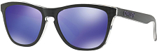 Очки солнцезащитные Oakley 2018 Frogskins CHECKBOX BLACK/VIOLET IRIDIUM