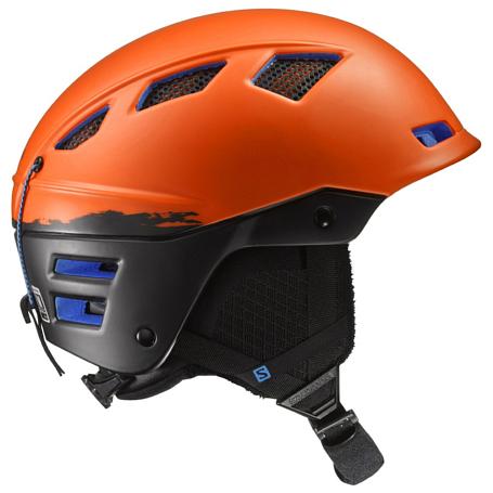 Купить Зимний Шлем SALOMON 2016-17 HELMET MTN CHARGE Orange/BLACK Шлемы для горных лыж/сноубордов 1305155