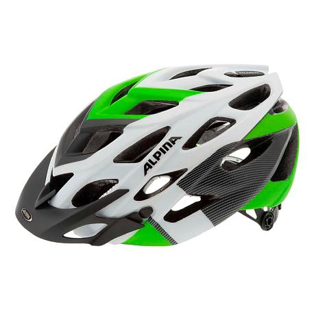 Купить Летний шлем Alpina MTB D-Alto LE white-black-green, Шлемы велосипедные, 1179885