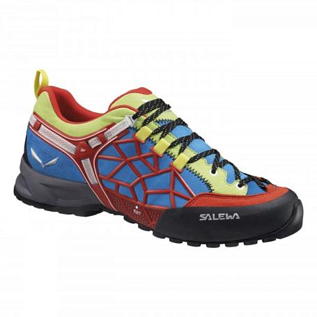 Купить Ботинки для треккинга (низкие) Salewa 2017 MS WILDFIRE PRO Flame/Cactus, Треккинговые кроссовки, 1157854