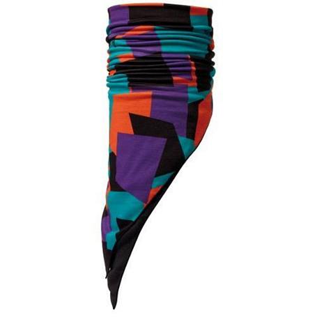 Купить Бандана BUFF BANDANA WITH POLAR FLEECE REVERSIBLE BLOCKS (BLACK) Банданы и шарфы Buff ® 842230