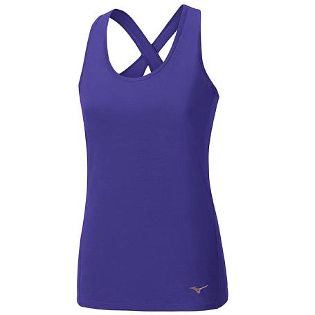 Купить Майка беговая Mizuno 2017 Active Tank фиолет, Одежда для бега и фитнеса, 1334692