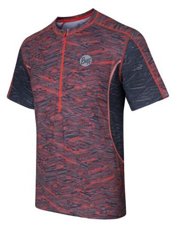 Купить Футболка беговая BUFF 1054 S/SL T-SHIRT (GRENADINE) оранжевый Одежда для бега и фитнеса 882711