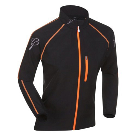 Жакет беговой Bjorn Daehlie Jacket IMPACT Women 99949 (black/shocking orange) черный/оранж