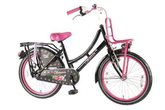 Купить Велосипед VOLARE Oma Cherry 2014 Черный/розовый, 6-9 лет (колеса 20 ), 1321775