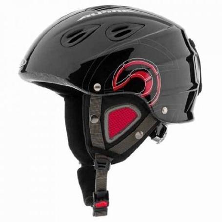Купить Зимний Шлем Alpina JUNIOR GRAP junior black-red Шлемы для горных лыж/сноубордов 1131253