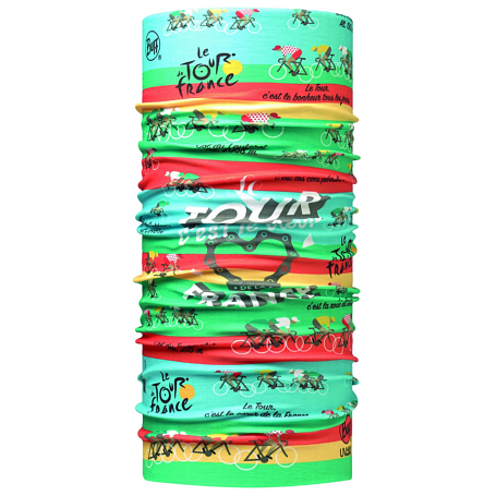 Бандана BUFF TOUR DE FRANCE HIGH UV BUFF ROUTE 16 MULTI