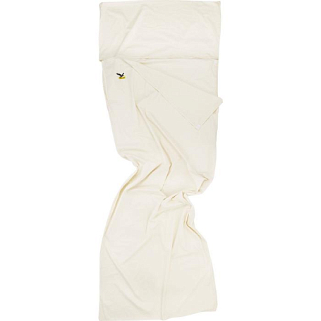 Вкладыш в спальник Salewa Liners and Pillows Cotton liner silverized off white