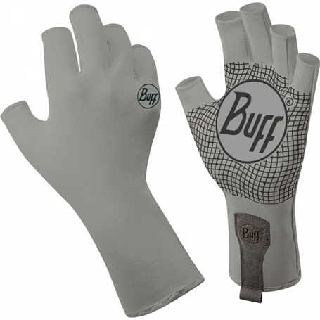 Перчатки рыболовные BUFF Watter Gloves BUFF WATER GLOVES BUFF LIGHT GREY M/L