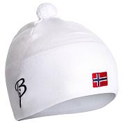 ШапкаГоловные уборы<br>Утепленная шапка с содержанием шерсти, с норвежским флагом и логотипом Bjorn Daehlie.&amp;nbsp;&amp;nbsp;&amp;nbsp;&amp;nbsp; <br><br>Материал: 30% шерсть, 70% акрил. <br>