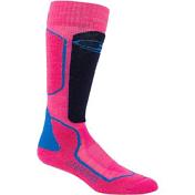 НоскиНоски<br>Легкие и теплые горнолыжные носки<br> <br> -состав 67% шерсти мериноса, 31% нейлон, 2% LYCRA®<br> -воздухопроницаемы, устойчивы к образованию неприятных запахов, выводят лишнюю влагу<br> -амортизирующие вставки<br> -плоские швы