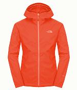 Куртка для активного отдыхаОдежда для активного отдыха<br>The North Face® Men's Quest Jacket - водонепроницаемая куртка с капюшоном из мягкой, приятной на ощупь ткани. Функциональная конструкция включает сетчатую подкладку и мягкую подкладку у подбородка. Куртка отлично сочетается с брюками Men's Quest Pant для обеспечения полной защиты от плохой погоды.