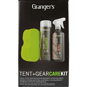 Набор для стирки GRANGERS Tent Cleaner,Repel Trigger Spray&Sponge 500 мл