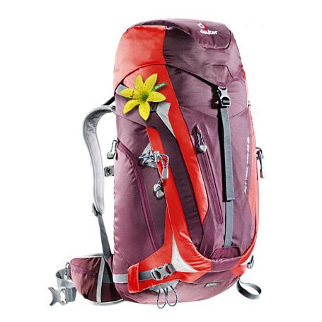 Купить Рюкзак Deuter 2018 ACT Trail PRO 38 SL aubergine-fire Рюкзаки универсальные 1147358